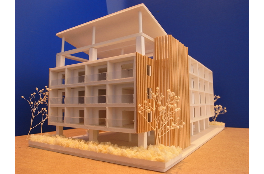HINOSHIORI: Construction modeling