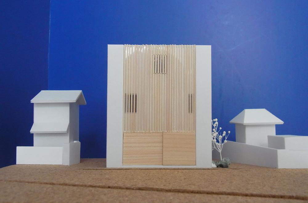 LOUVER FACADE: Construction modeling
