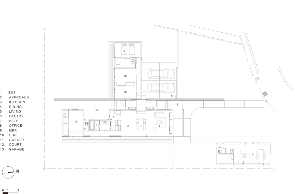 FLAT II: Structural drawing