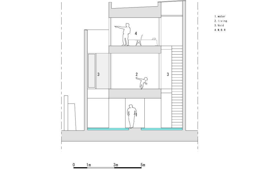 WATER GALLERY: Structural drawing