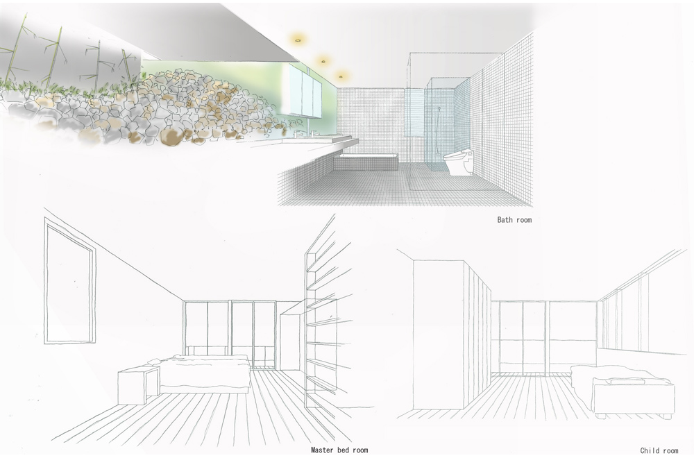 HOUSE WITH OAK TREE: Image drawing