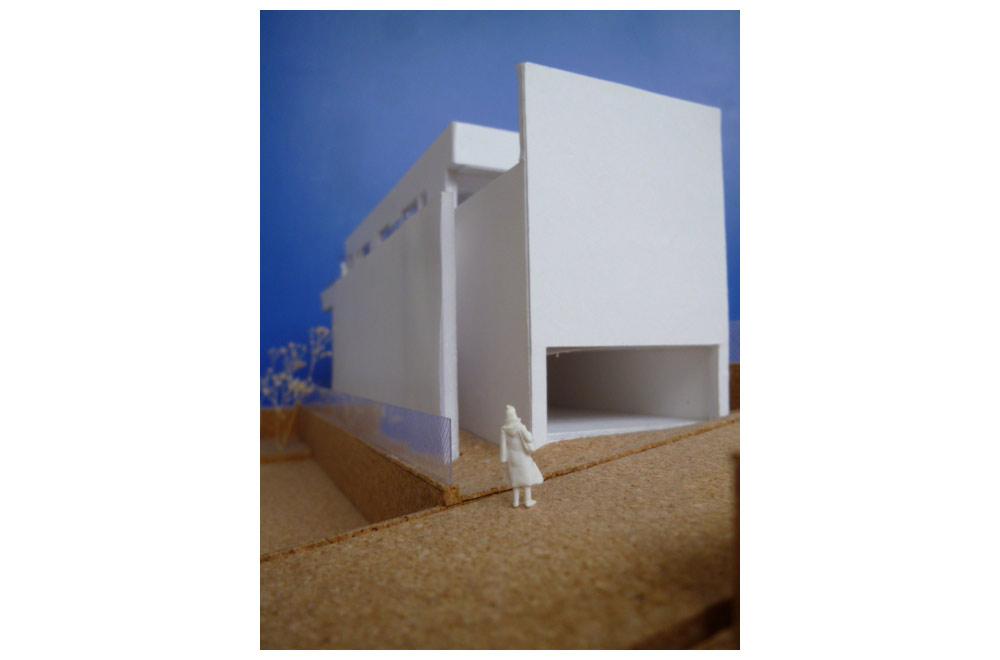 HOUSE IN MUKOYAMA: Construction modeling