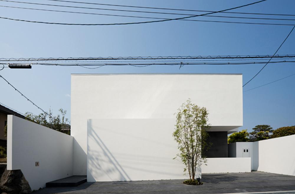 VILLA WHITE CUBE: Facade