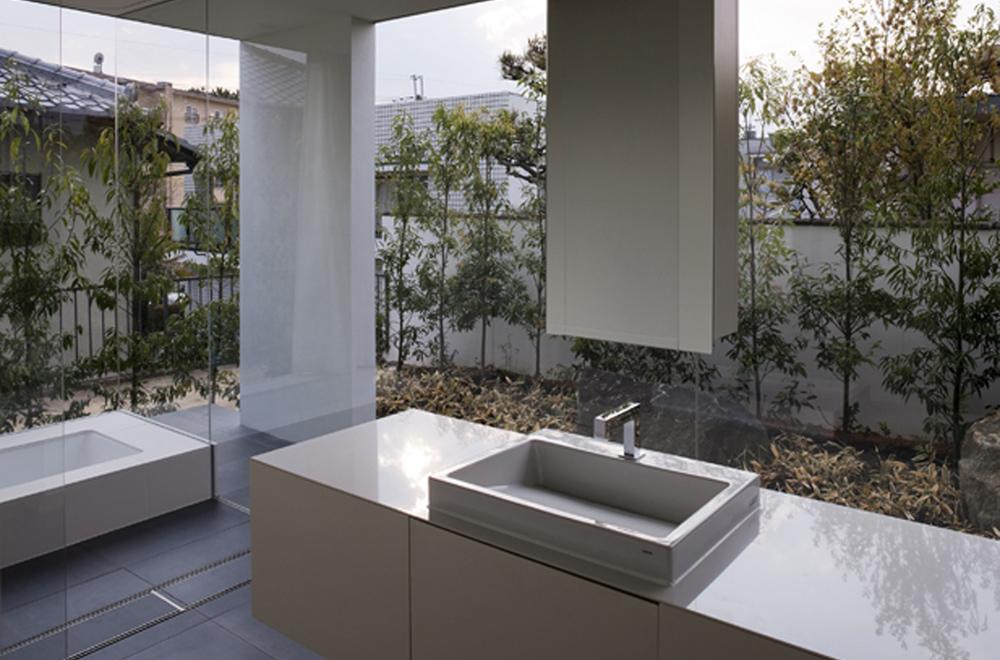 VILLA WHITE CUBE: Wash room