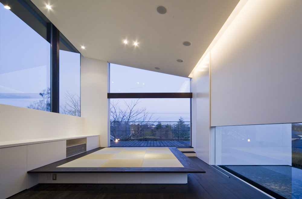 WITH THE VIEW: Sitting-room