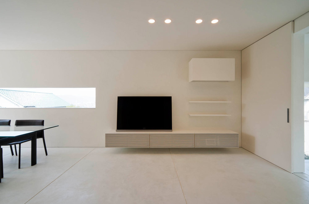WIDE VIEW: Living room