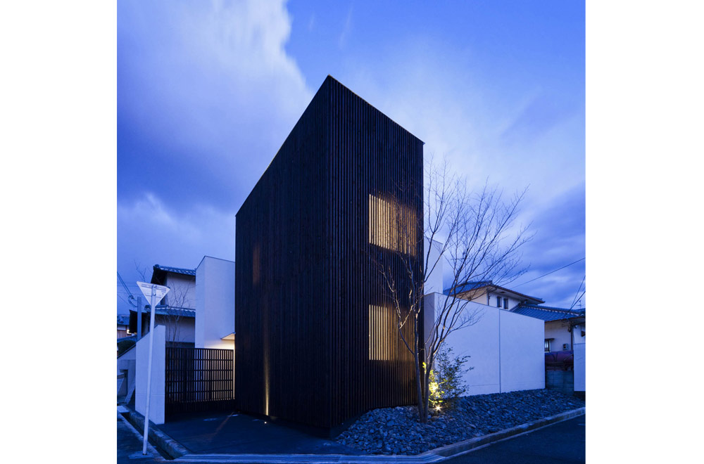 HOUSE WITH A LOUVER TOWER: Appearance (Evening)