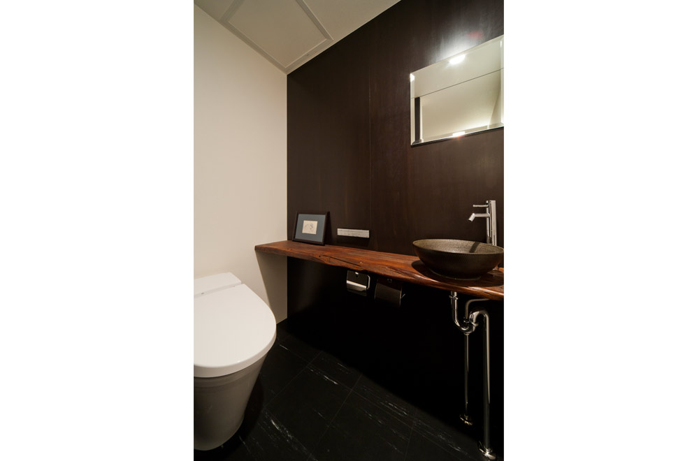 BLACK WALL HOUSE: Toilet