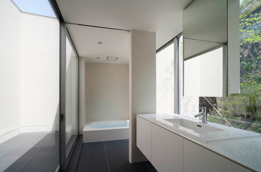 WIDE VIEW: Wash room