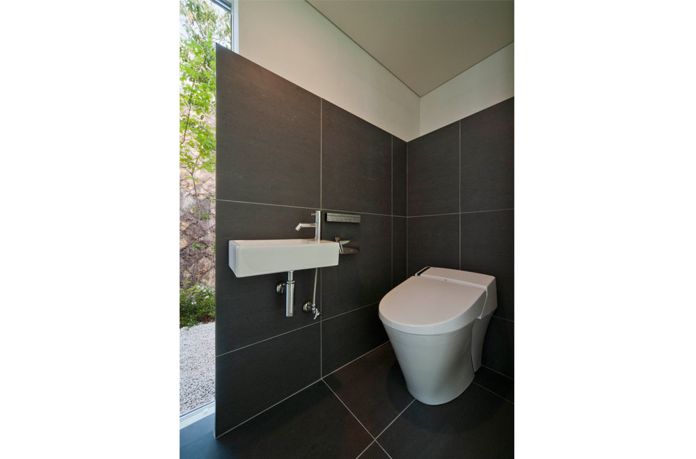 WIDE VIEW: Toilet