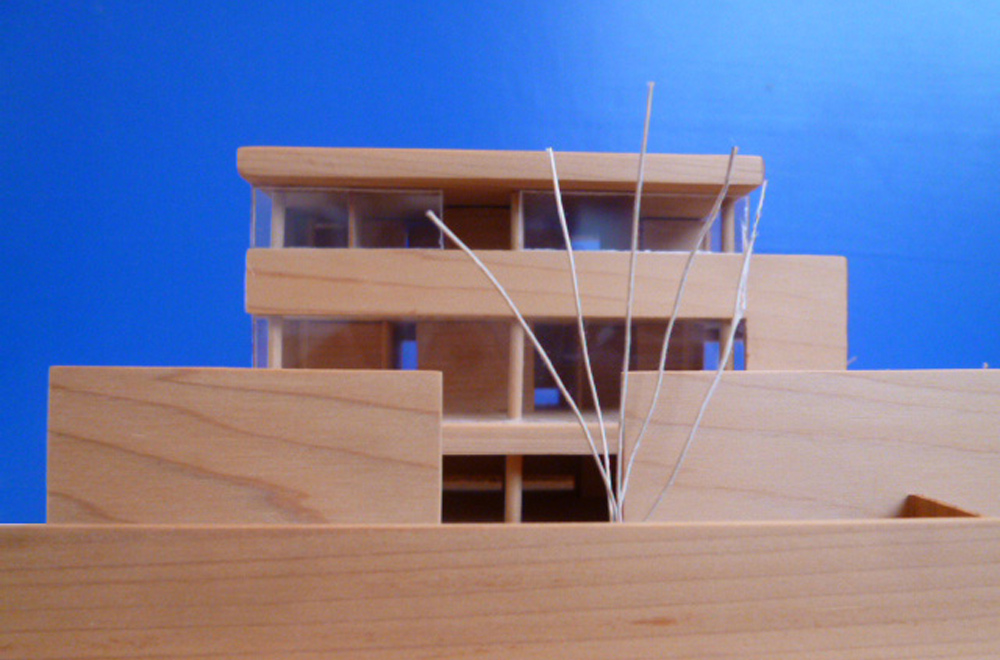 HOUSE IN TAKATSUKA: Construction modeling
