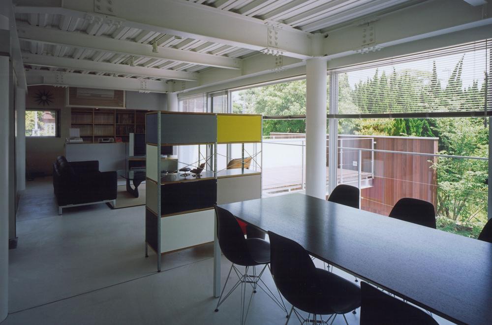 HOUSE IN TAKATSUKA: Living room