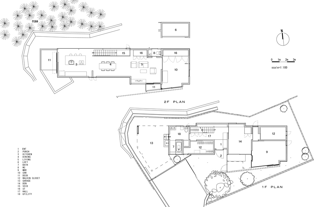 HOUSE IN HANNAN: Structural drawing