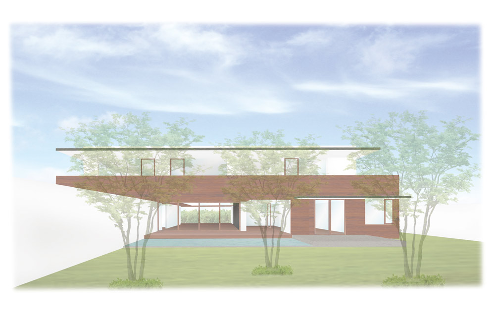 GARDEN HOUSE: Image drawing
