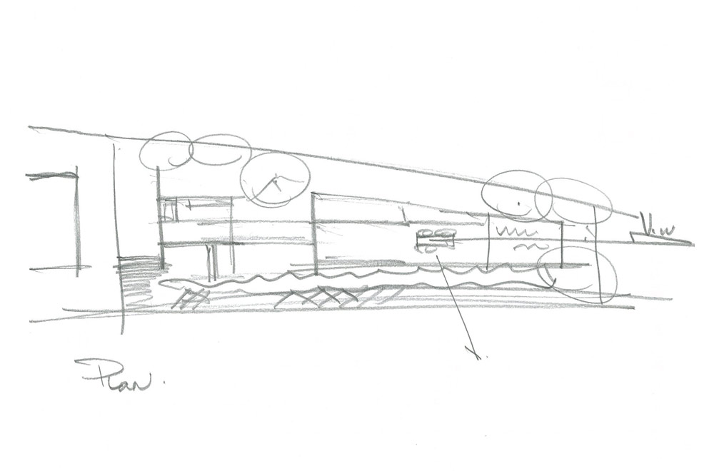 WIDE VIEW: Rough sketch