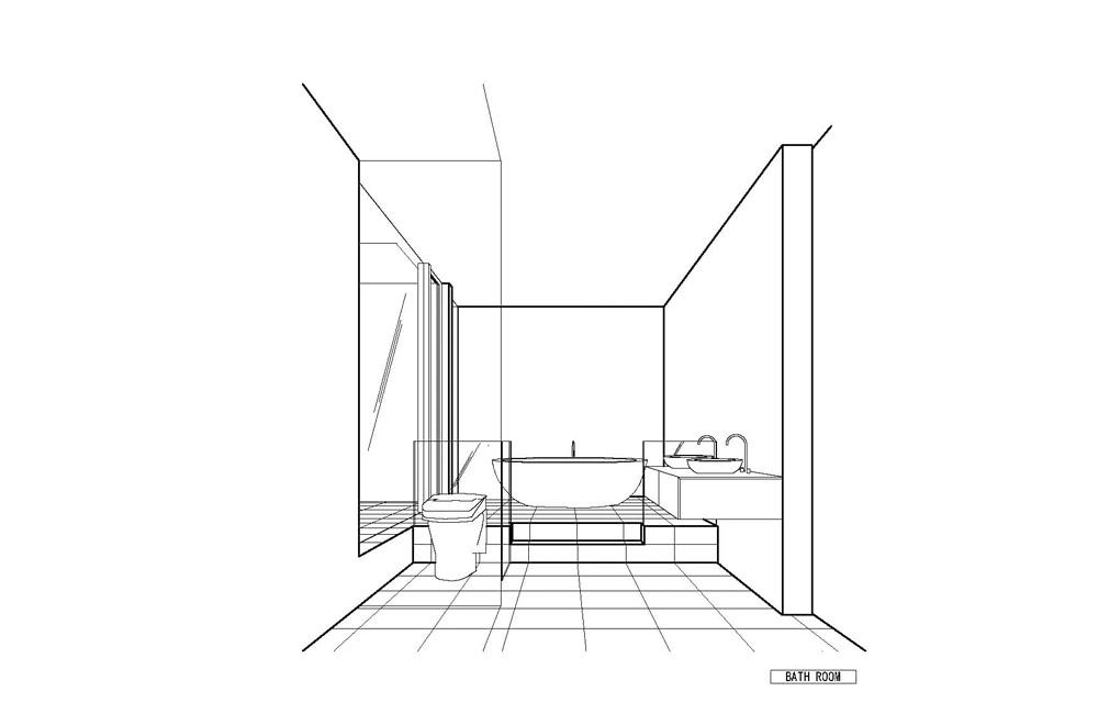 HOUSE IN MUKOYAMA: Image drawing