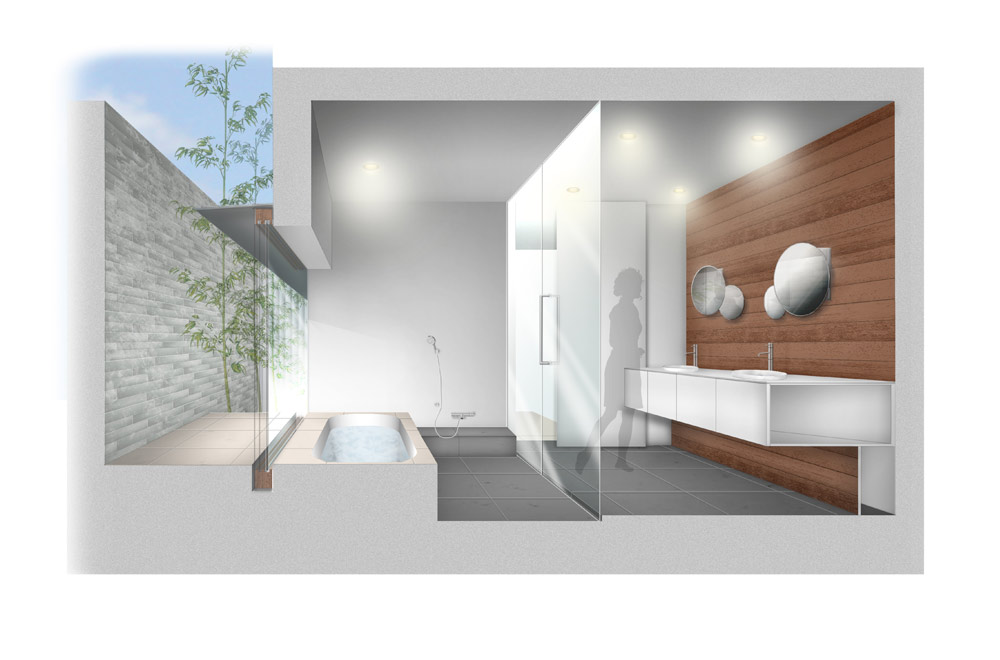 ESPACE HOUSE: Image drawing