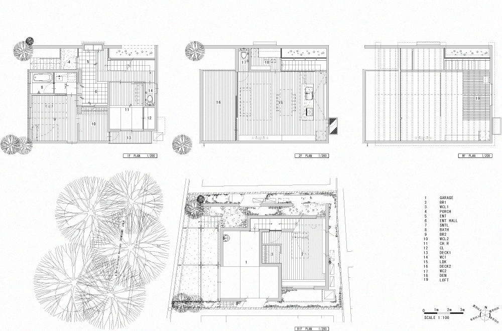 LIFE IN THE FOREST HOUSE: Structural drawing