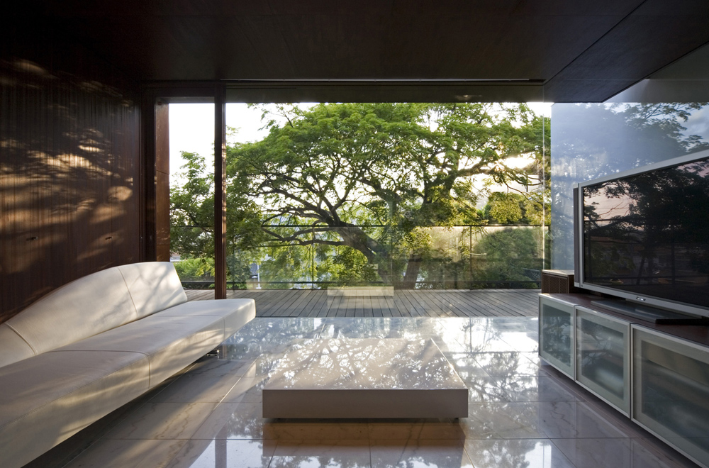 HOUSE WITH MAPLE TREE: Private space