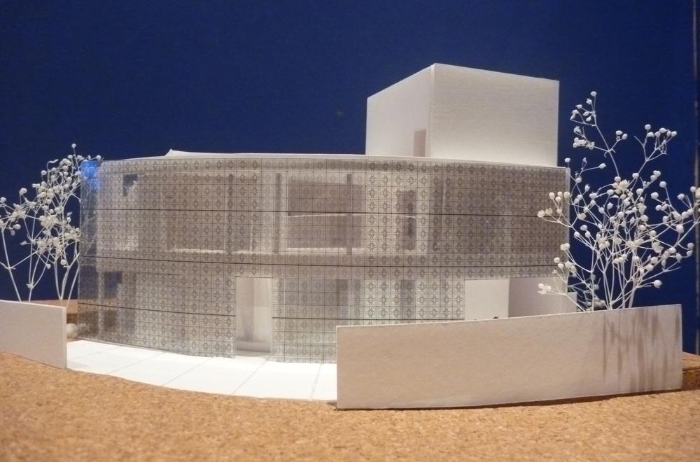 LIGHT SCREEN: Construction model