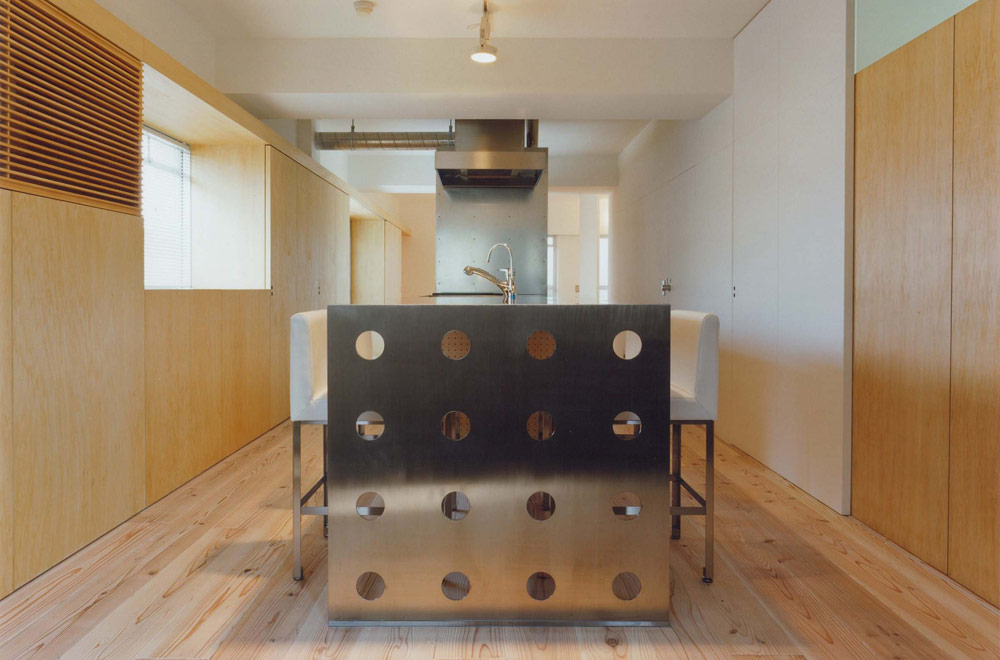 K-HOUSE: Living room & Dining kitchen