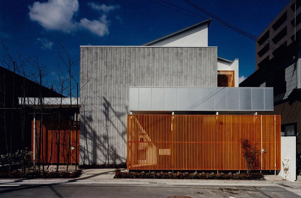 HOUSE IN YASHIKITHOU: Facade