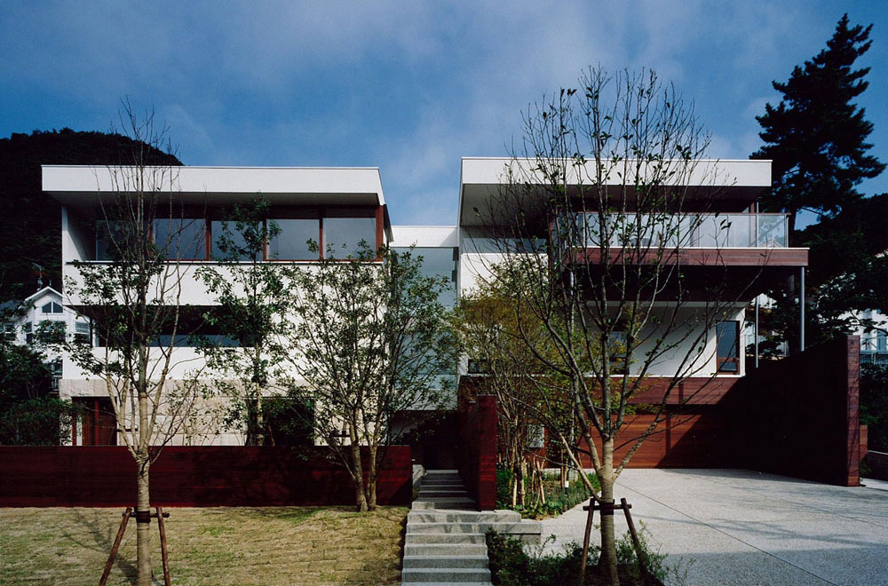 OKUIKE SUMMER HOUSE: Facade