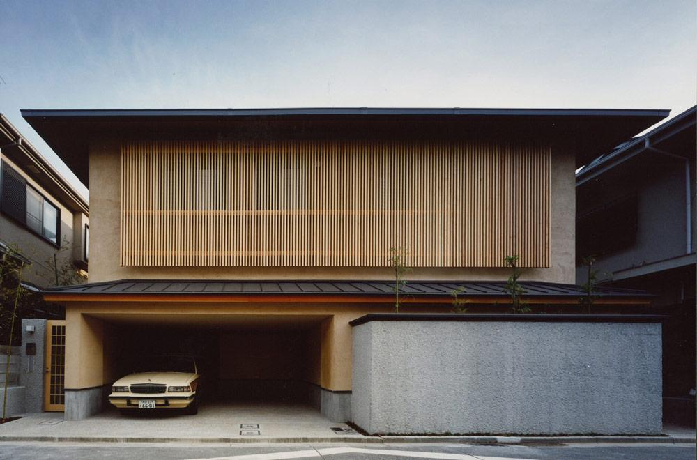HOUSE IN KOSHIEN: Facade