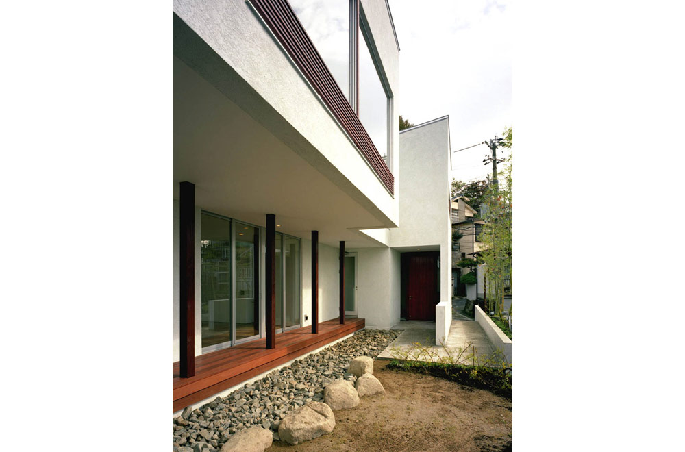 HOUSE IN MOTOYAMA: Terrace