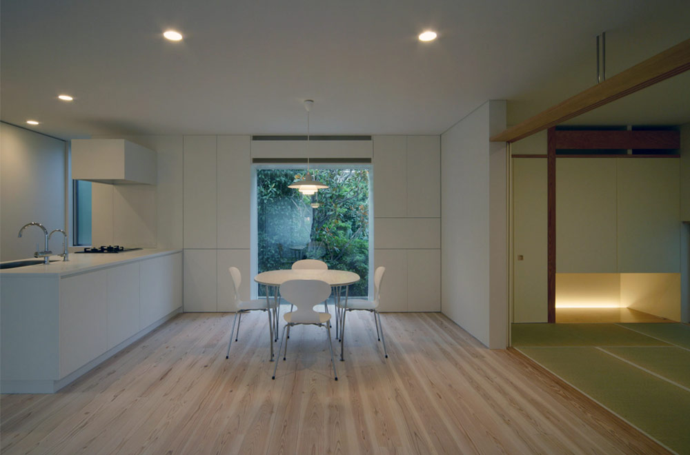 STAR HOUSE: Living room & Dining kitchen