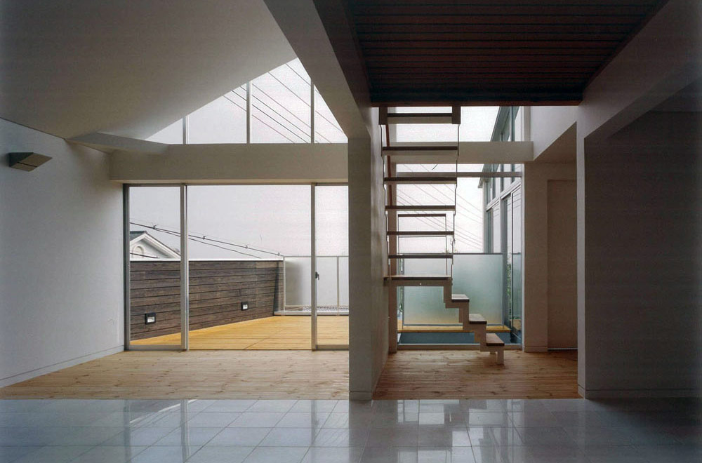 HOUSE IN SANJYO: Open space
