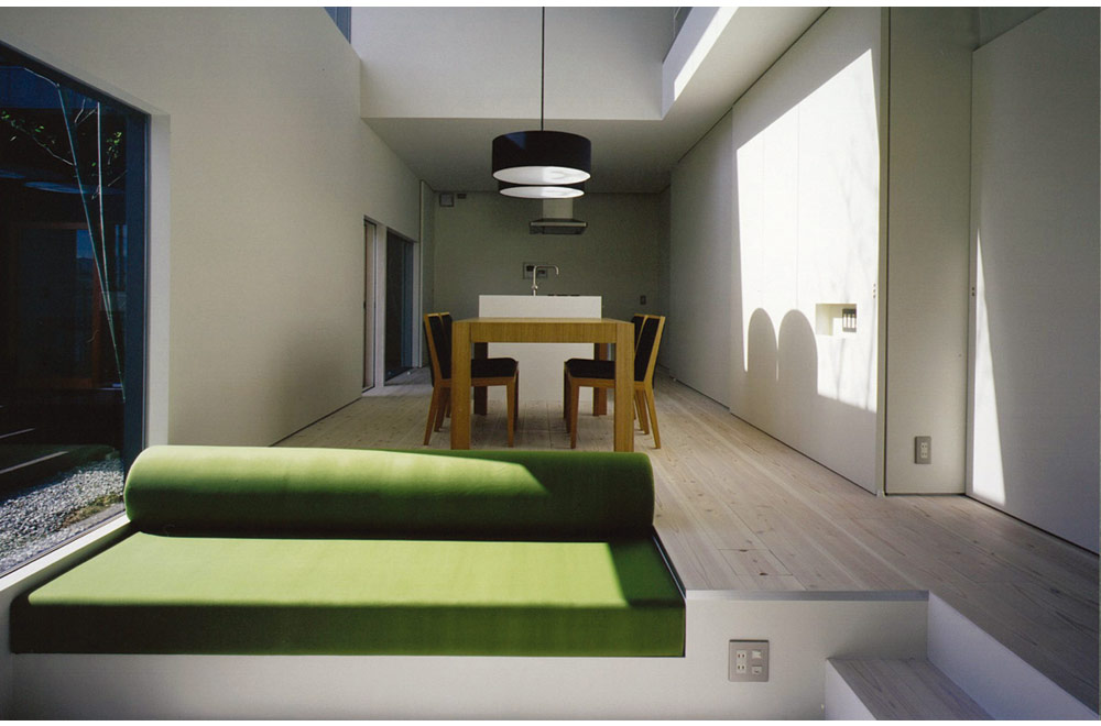ESPAS: Living room & Dining kitchen