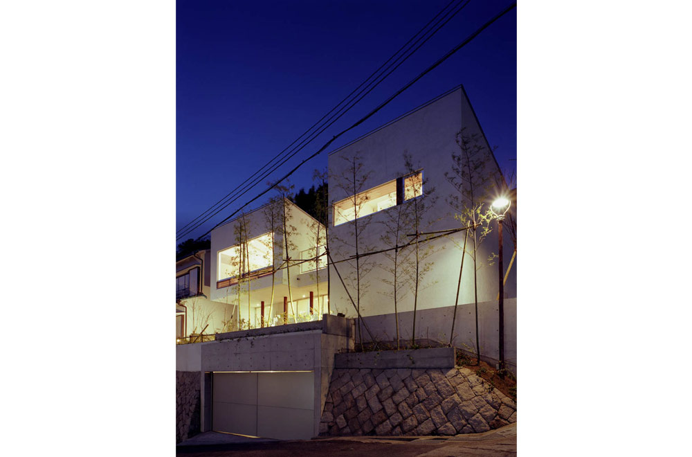 HOUSE IN MOTOYAMA: Appearance (in the night)