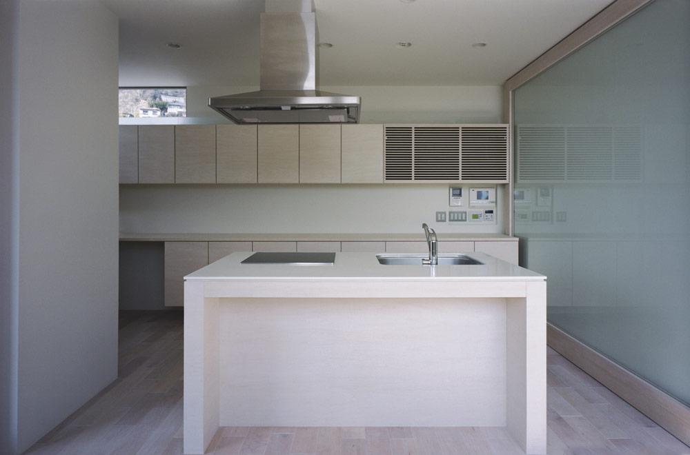 HOUSE IN HIGASHISUMA: Dining kitchen