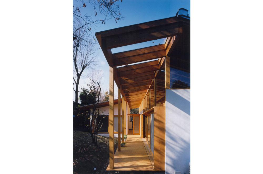 HOUSE IN IZU: Terrace