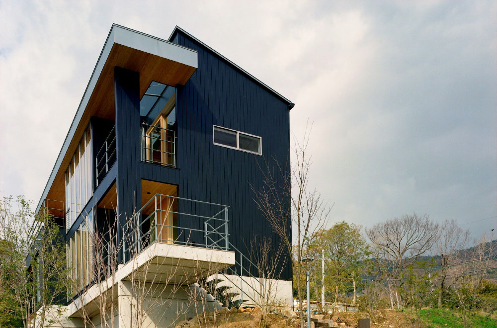FLYING HOUSE: Appearance
