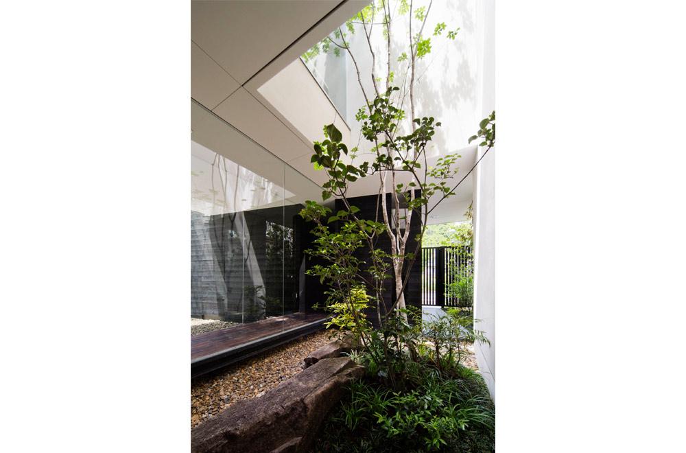 GLASS BRIDGE: Courtyard