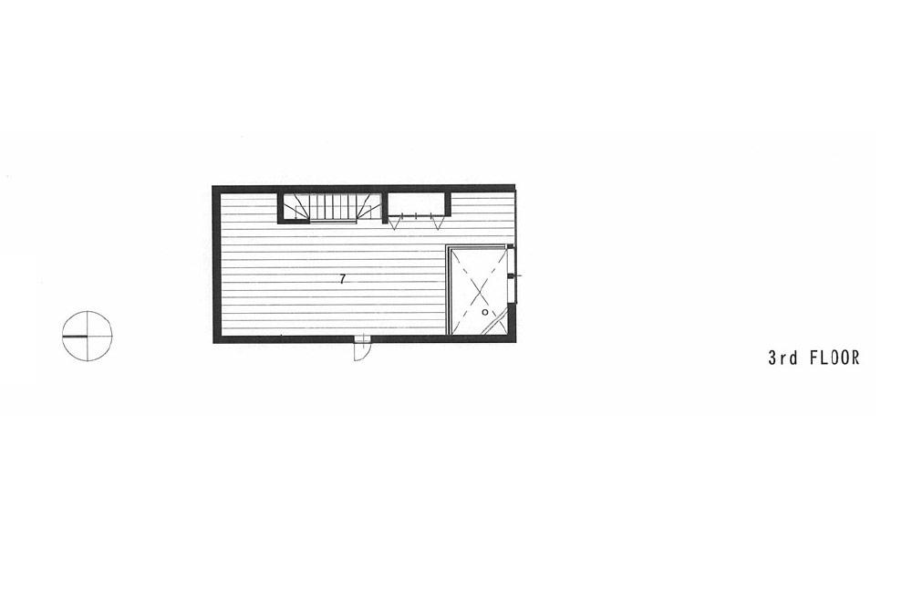 HOUSE IN MINAMI-MUKONOSOU: Structural drawing