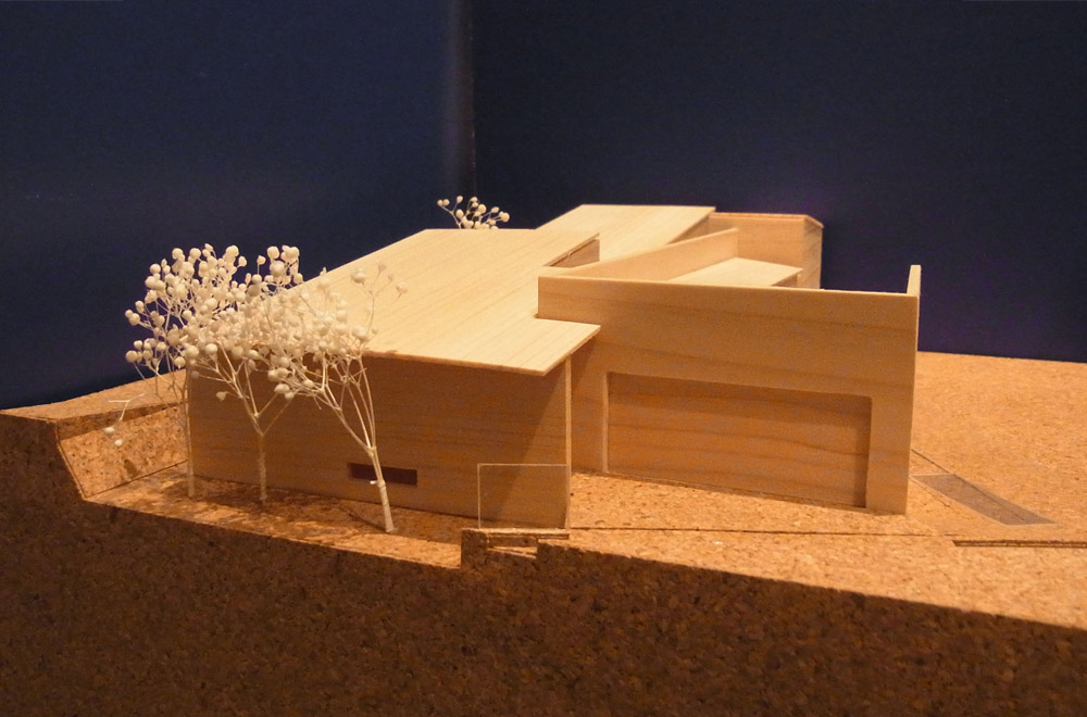A HOUSE WITH A LITTLE STREAM: Construction modeling
