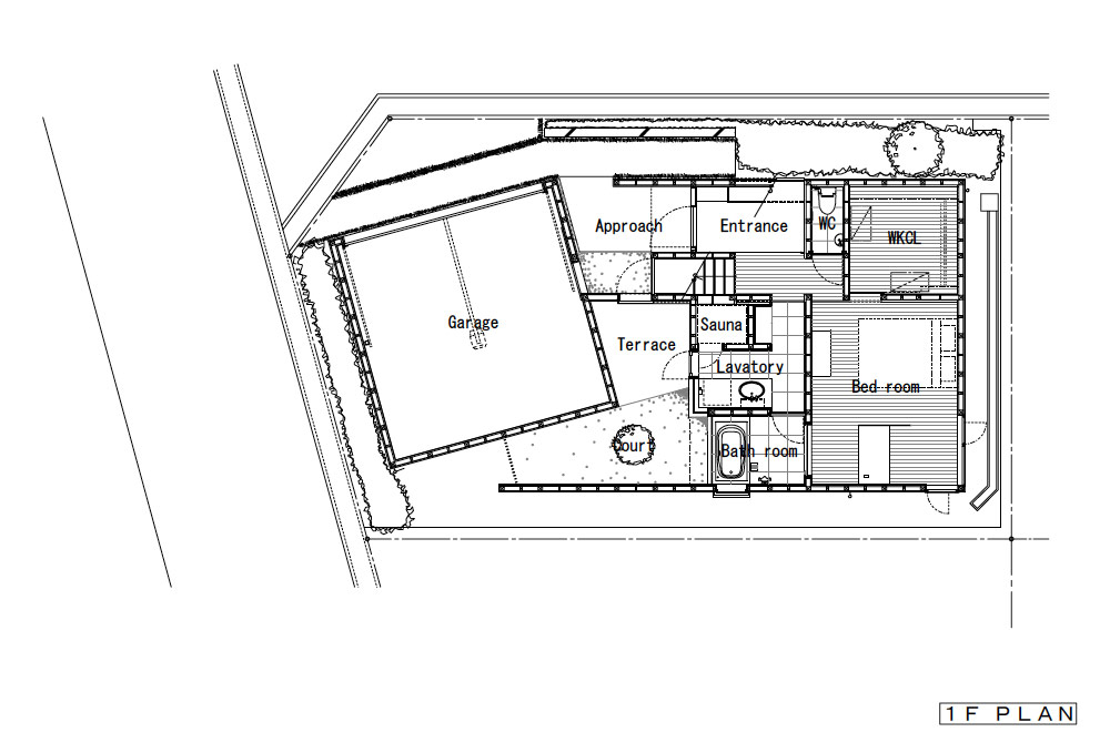 HOUSE IN HIGASHISUMA: Structural drawing