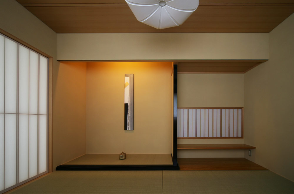 SYMMETRY: Japanese-style room (Alcove)